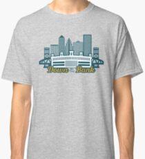 Camiseta clásica Abajo por el Banco