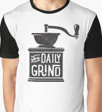 THE DAILY GRIND Graphic T-Shirt
