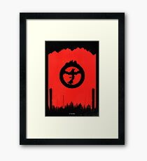 Destruction... Framed Print