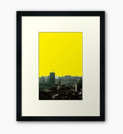 macau view Framed Print