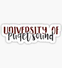 University of Puget Sound - Style 1 Sticker
