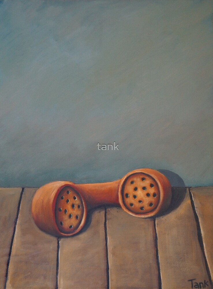 Red Receiver  by tank