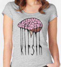 Brain Logo Women's Fitted Scoop T-Shirt