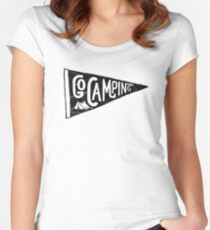 Go Camping Women's Fitted Scoop T-Shirt