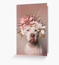 Flower Power, Minnie Grußkarte