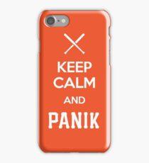KCP - Keep Calm and Panik iPhone Case/Skin