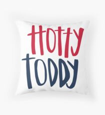 Hotty Toddy Throw Pillow