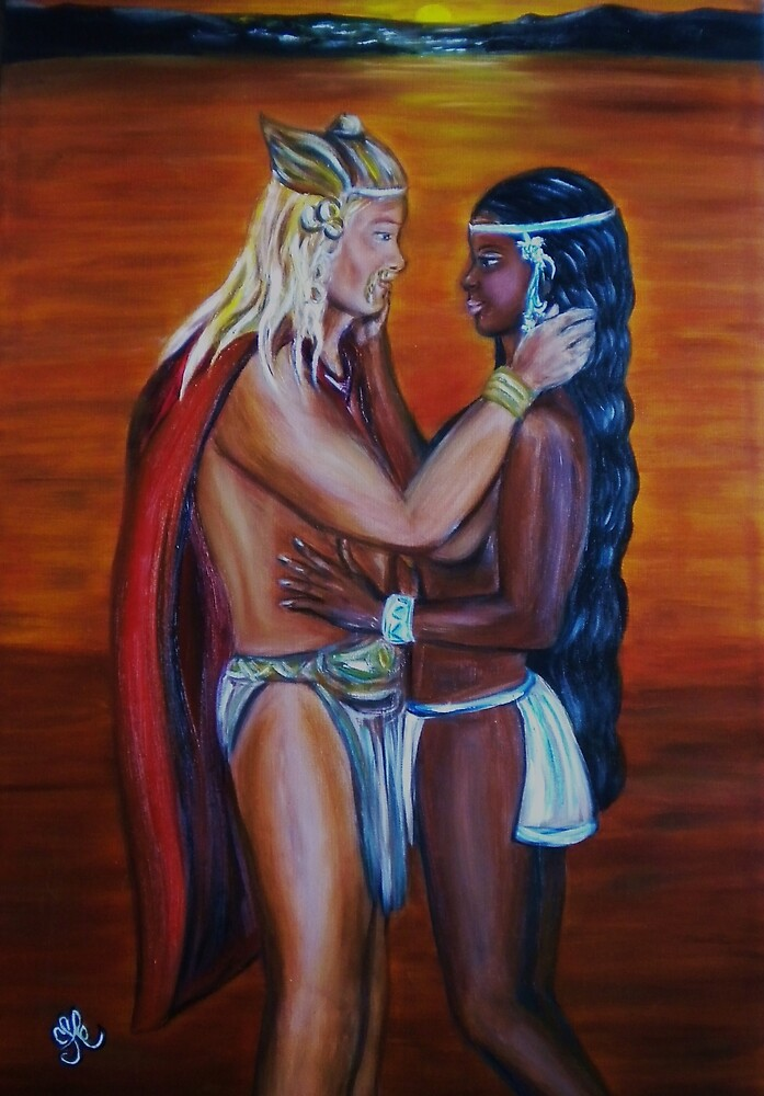 Vikings Discover America -Interracial Lovers Series by Yesi Casanova