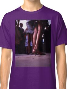 Young lady dancing in Spanish wedding party dance Hasselblad  analog film still life photo Classic T-Shirt