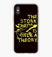 Stork Theory by Tai's Tees iPhone Case