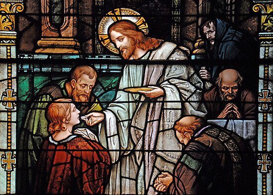 Eucharist, Manna from Heaven by Bonnie T.  Barry