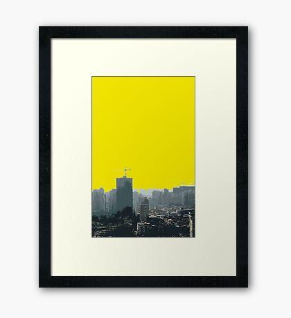 macau scape Framed Print