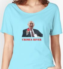 Crimea River Vladimir Putin Women's Relaxed Fit T-Shirt