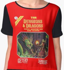 Dungeons and Dragons Basic Rulebook (Remastered) Women's Chiffon Top