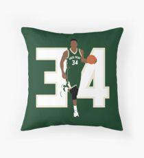 34 Greek 3 Throw Pillow