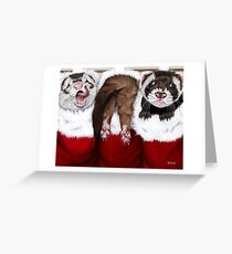 The Stockings Greeting Card