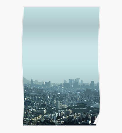 tokyo haze Poster