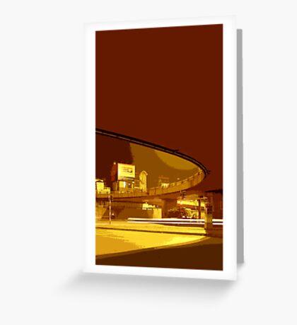 underbridge hanoi Greeting Card