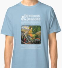 Dungeons and Dragons Companion Guide (Remastered) Classic T-Shirt