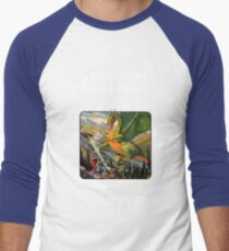 Dungeons and Dragons Companion Guide (Remastered) Men's Baseball ¾ T-Shirt