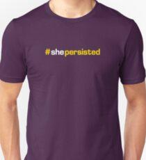 #shepersisted Unisex T-Shirt