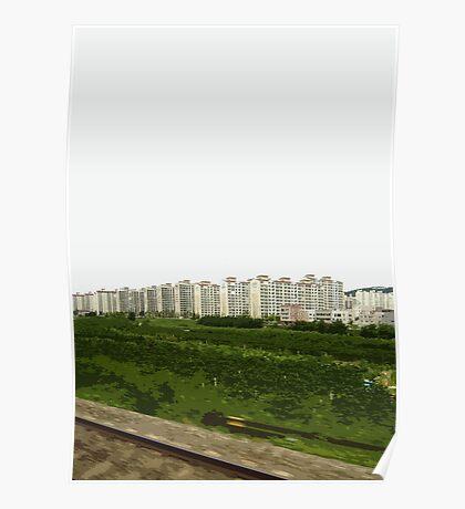 korean landscape Poster