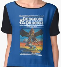 Dungeons and Dragons Expert Rule book (remastered) Chiffon Top