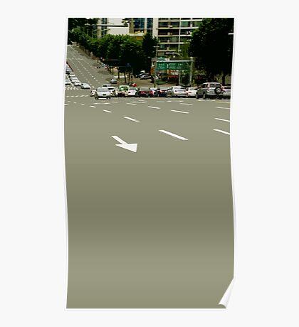 asphalt Poster
