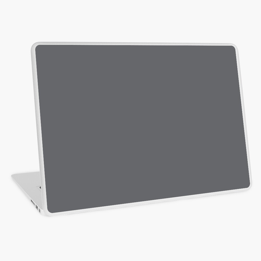 Dark Gray, to complement Tropical Rose Gold Print series Laptop Skin