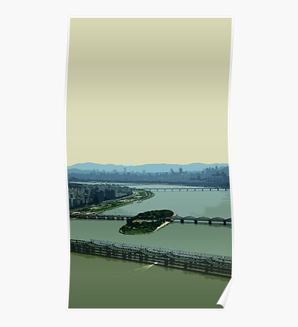 the river han Poster