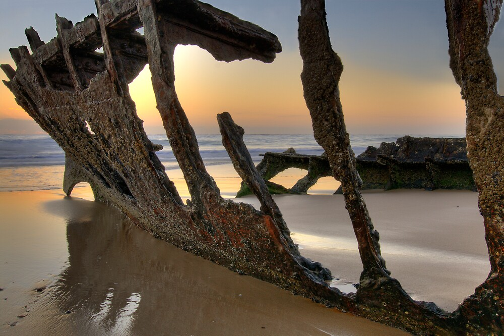 The Wreck of the SS Dicky by Dalzine