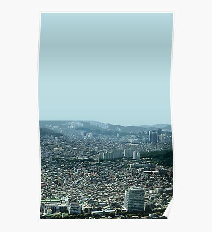 seoul flowing Poster