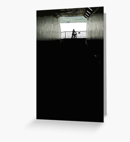 tunnelview Greeting Card