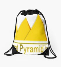 Great Pyramid Inn Drawstring Bag