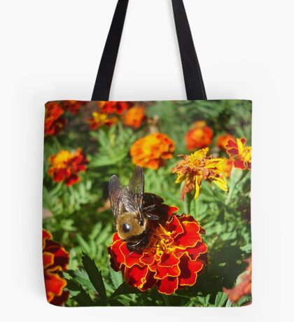 Farewell to Fall - a very handsome Bumbleboy Tote Bag