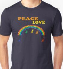 peace love children rainbow T-Shirt