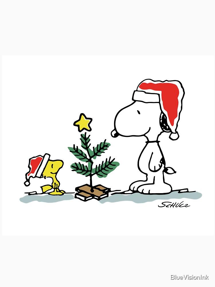Weihnachtsbaum Comic.Weihnachtsbaum Mit Snoopy Und Woodstock Erdnuss Comic Classic T Shirt