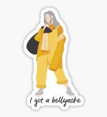 Billie Eilish - Bellyache 1 Sticker