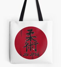 Jiu Jitsu - Japanese Kanji, BJJ MMA Tote Bag