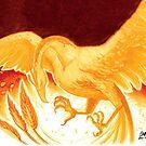 Swooping Phoenix by Waywardstudios
