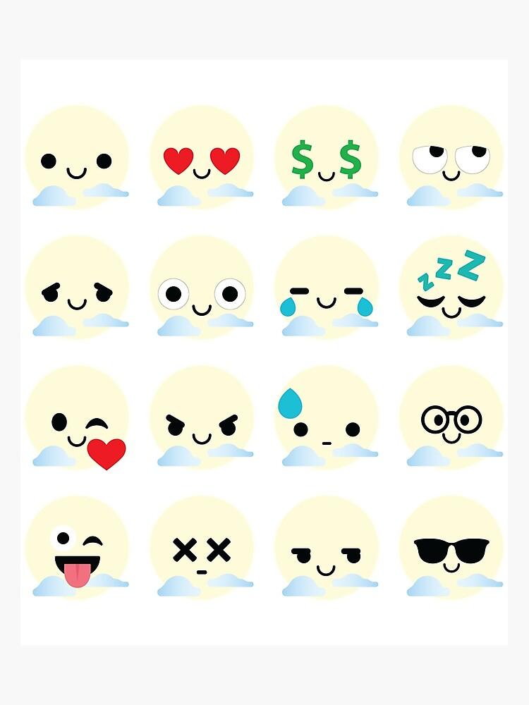Sun Emoji | Photographic Print