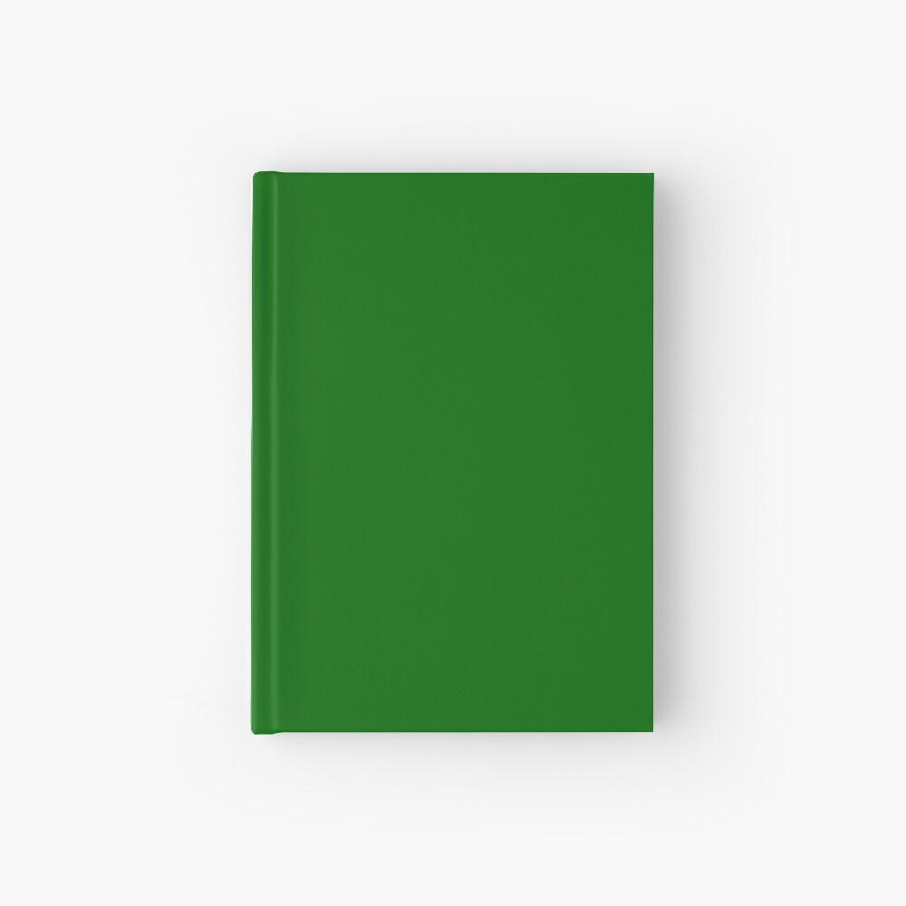 Dunkelgrün Notizbuch