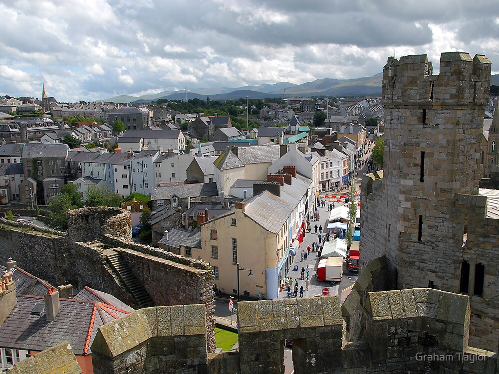 A View of Caenarvon by Graham Taylor