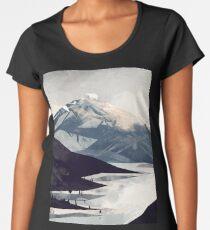 Calming Mountain Women's Premium T-Shirt