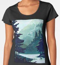 Canadian Mountain Women's Premium T-Shirt