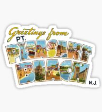 Greetings from Point Pleasant Beach, New Jersey Sticker