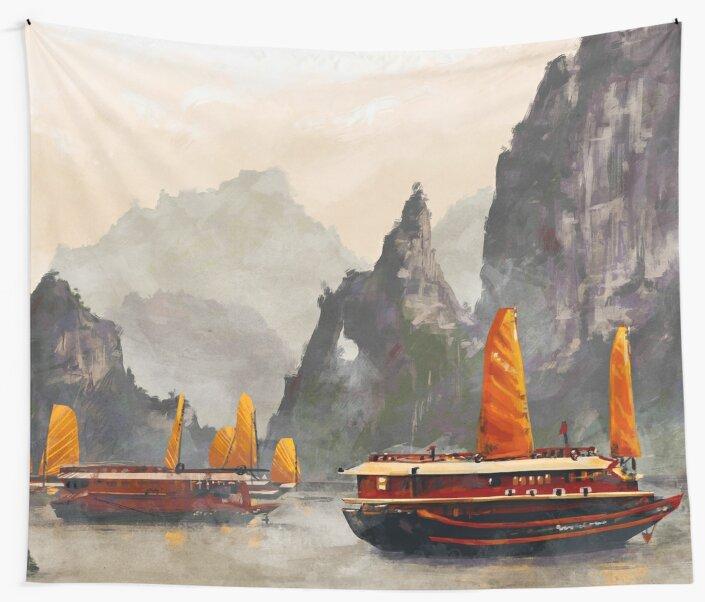 Ha Long Bay by MicaelaDawn
