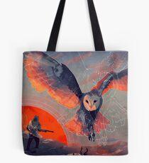 Owl Hunt Tote Bag