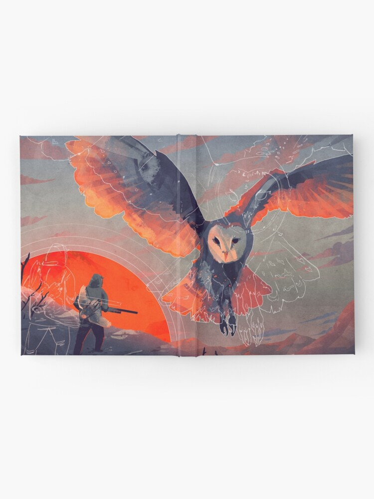 Alternate view of Owl Hunt Hardcover Journal