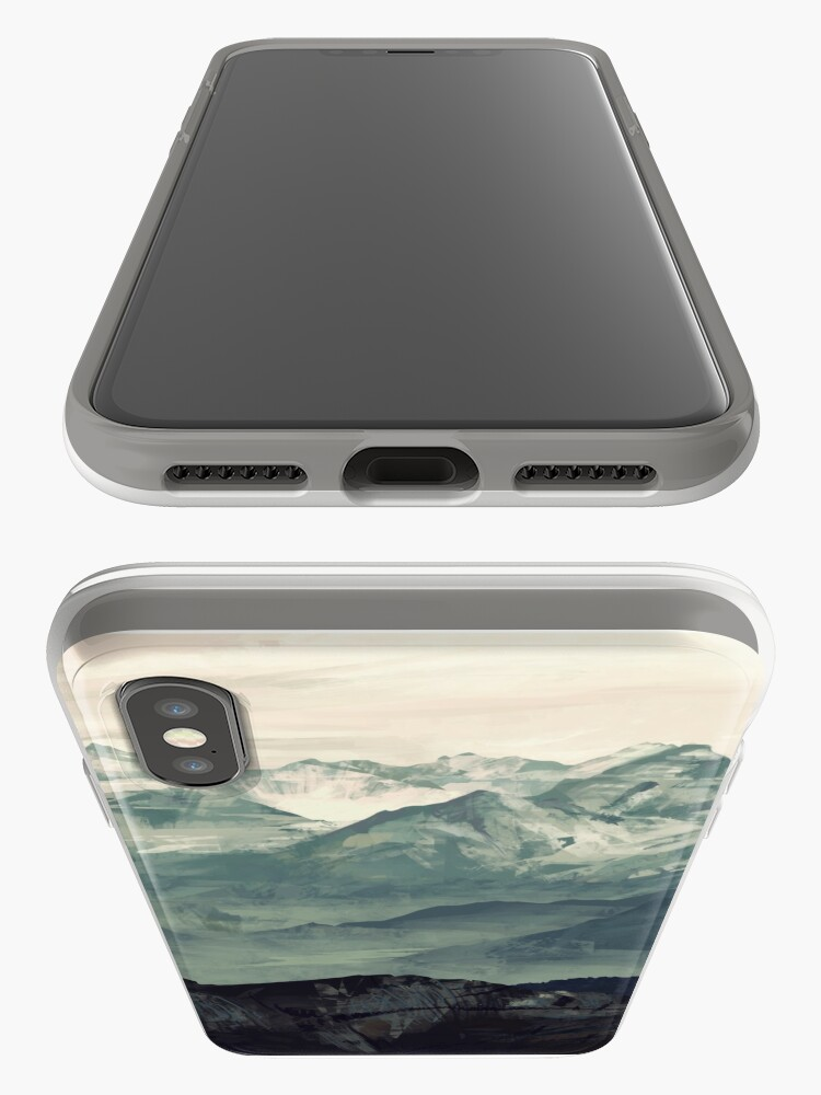 Alternative Ansicht von Berg Nebel iPhone-Hüllen & Cover